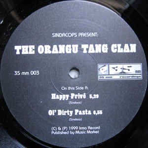 "The Orangu Tang Clan EP (12"")"