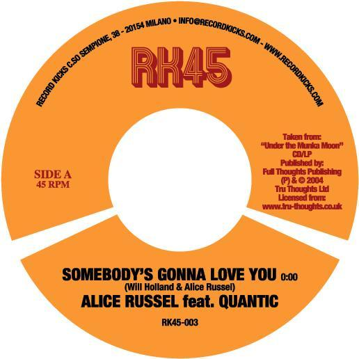 Somebody's Gonna Love you c/w Tough Chicken Pt.1