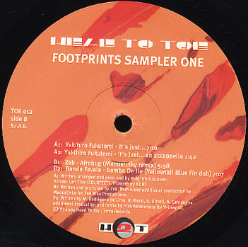 Footprints Sampler One (vinyl)